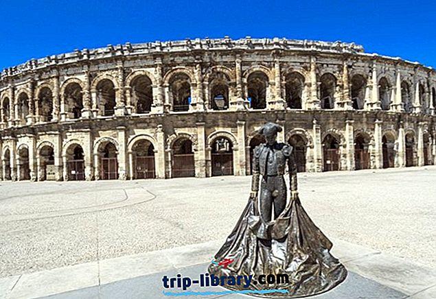 10 tipptasemel vaatamisväärsust ja külastatavust Nîmesis