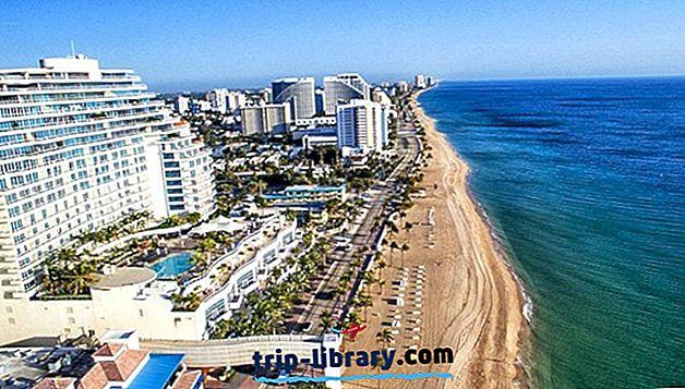 Kus peatuda Fort Lauderdale'is: parimad piirkonnad ja hotellid, 2019