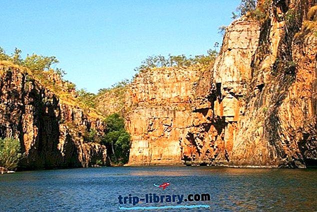 11 Nejlépe hodnocené turistické atrakce v severním území Austrálie
