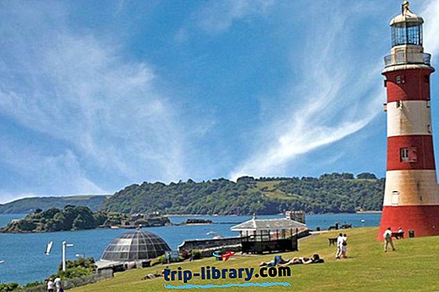 10 mest populære turistattraktioner i Plymouth