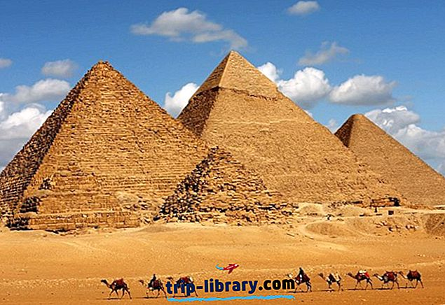 Піраміди Гізи: пам'ятки, поради та тури