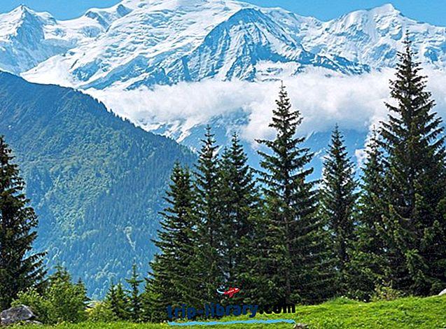 14 suosituinta matkailukohteita Chamonix-Mont-Blancissa