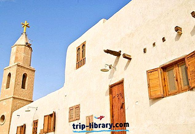 12 Nejlépe hodnocené turistické atrakce v oblasti Rudého moře