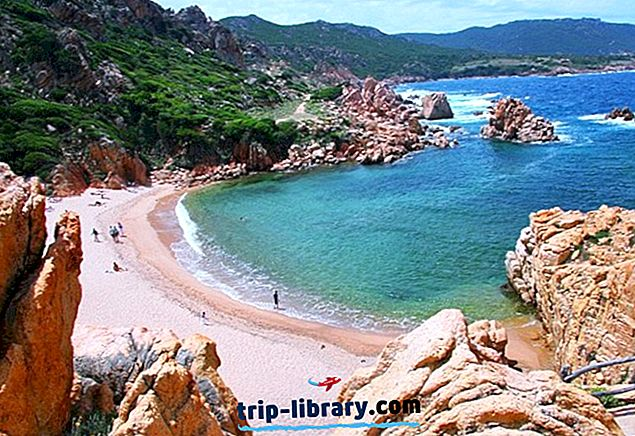 15 Nejlépe hodnocené turistické atrakce na Sardinii