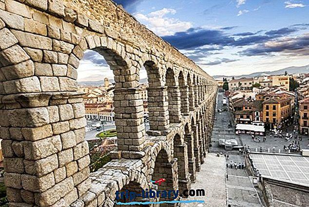 18 Najboljših turističnih znamenitosti v Segoviji