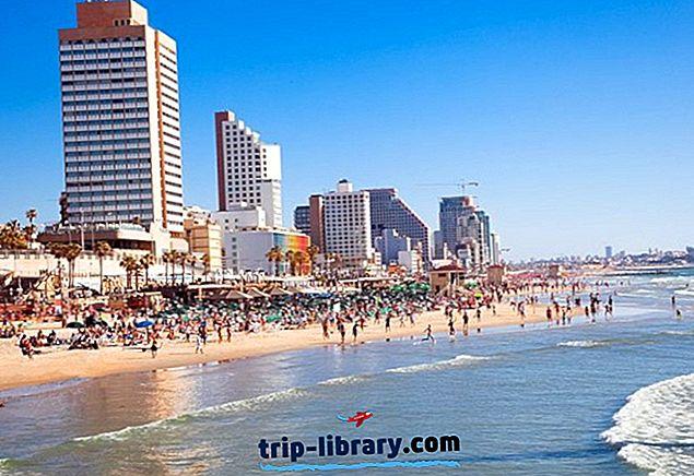 14 Nejlépe hodnocené turistické atrakce v Tel Avivu
