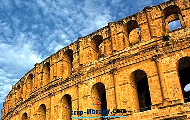 12 najbolj priljubljenih turističnih znamenitosti v Tuniziji