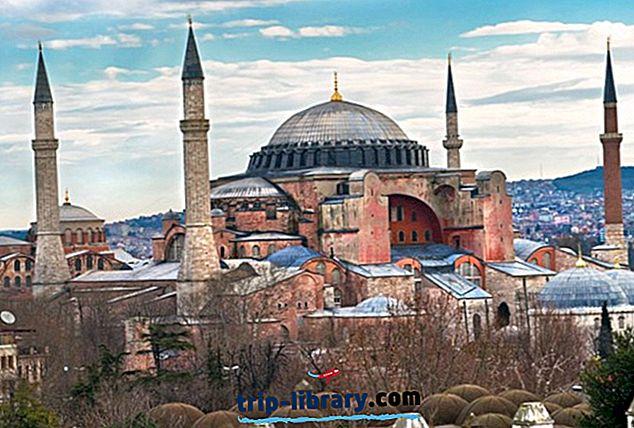 15 Nejlépe hodnocené turistické atrakce v Turecku