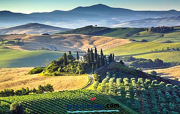 12 Tarikan Pelancong Tertinggi di Tuscany