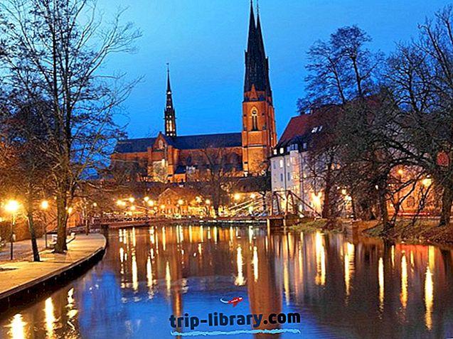 12 Nejlépe hodnocené turistické atrakce v Uppsale