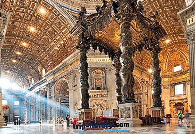 12 najbolj priljubljenih turističnih znamenitosti v Vatikanu