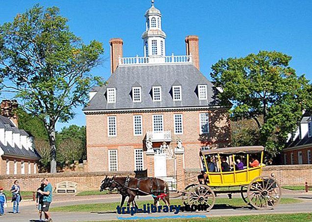15 populārākās tūristu apskates vietas Virdžīnijā
