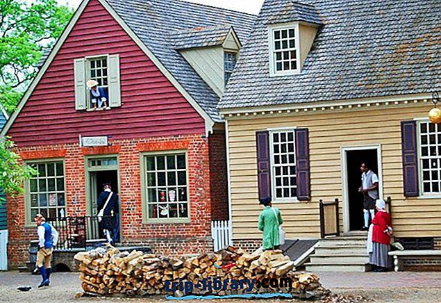 12 Bedst bedømte attraktioner i Williamsburg og Easy Day Trips