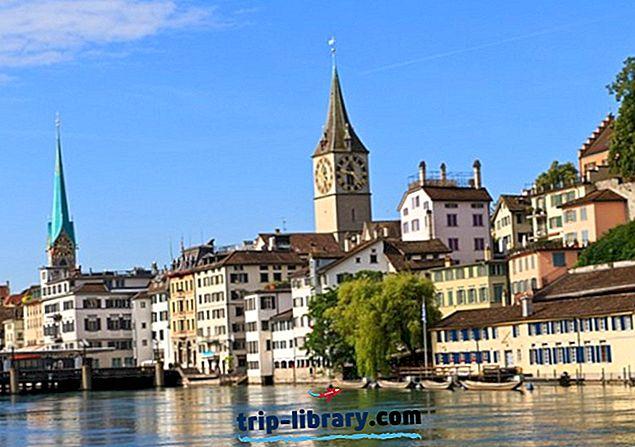 15 Najlepšie hodnotené turistické atrakcie v Zürichu