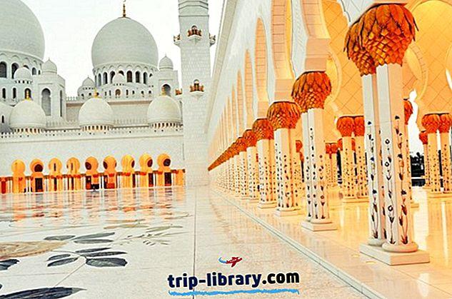 15 najbolj priljubljenih turističnih znamenitosti v Abu Dhabiju