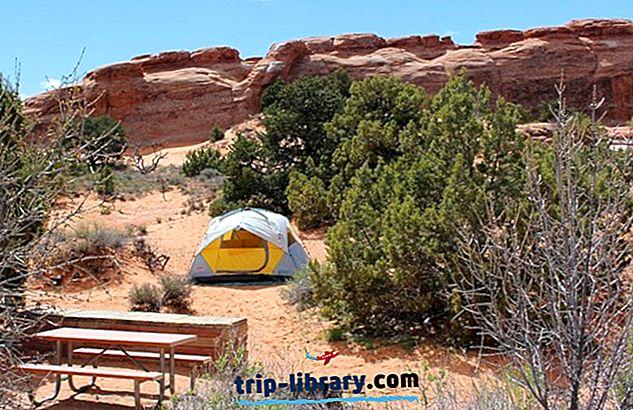 Moab周辺のベストキャンプ場:アーチ、キャニオンランズ、デッドホースポイント、BLM、&More