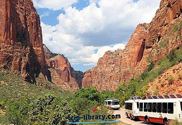 ザイオン国立公園のトップ11の観光名所&観光スポット