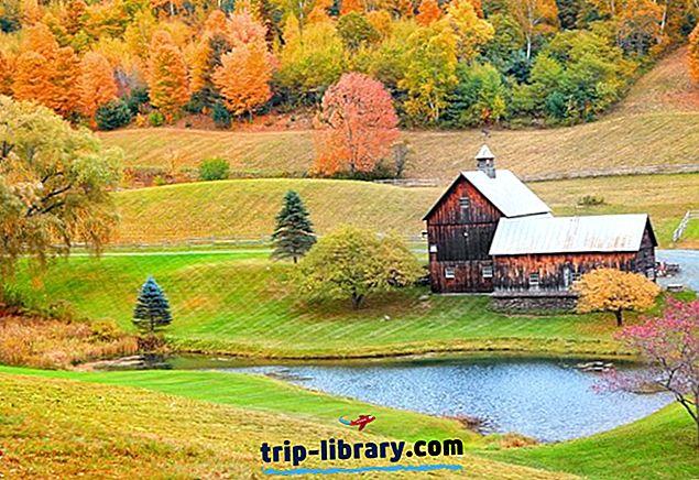 10月に旅行する12のトップ評価の場所