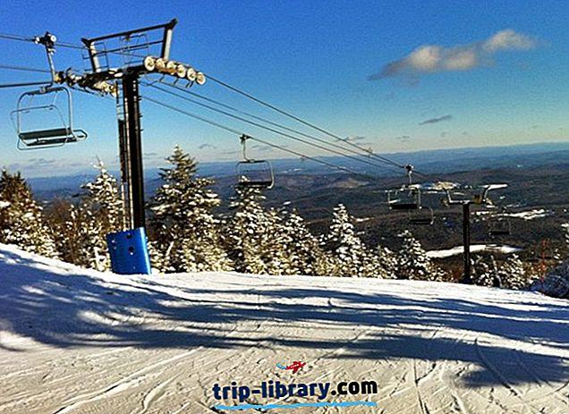 バーモント州のトップ12のスキーリゾート