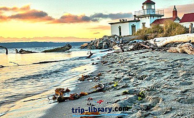 10 populære strande i Seattle-området