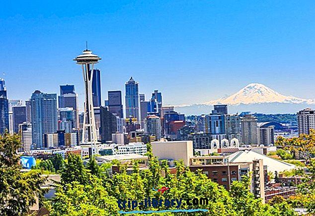 シアトルでの滞在先:ベストエリア&ホテル、2018