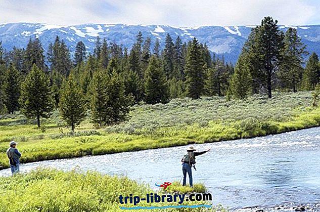 10 suosituinta lentokalastuskohteita Wyomingissa