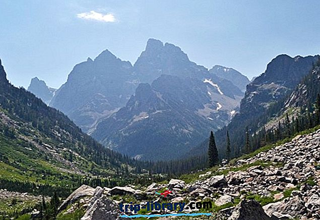 12 Top-hodnotené turistické trasy v národnom parku Grand Teton