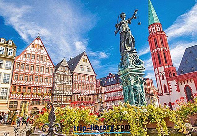 Overnatting i Frankfurt: Beste områder og hoteller, 2018