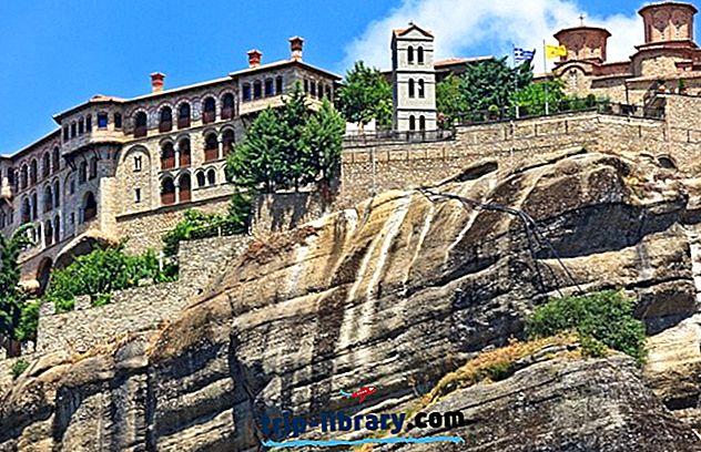 9 najbolj priljubljenih znamenitosti in zanimivosti v samostanih Metéora