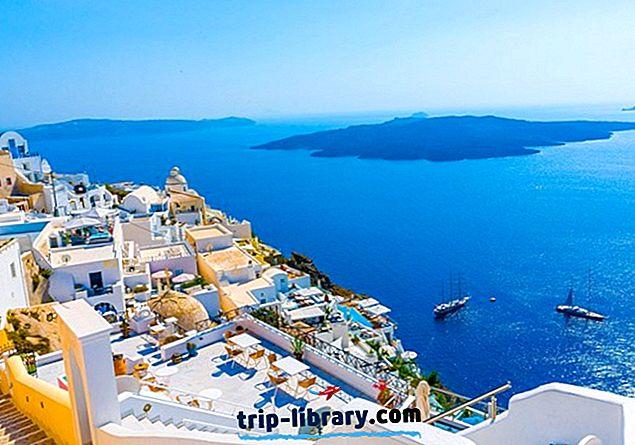 10 populiariausių lankytinų vietų Santorini