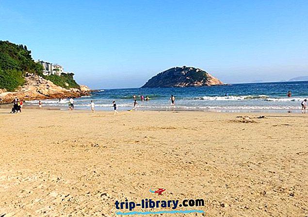 4 Nejlépe hodnocené pláže na ostrově Hong Kong