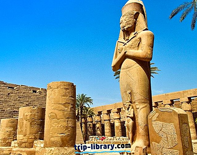 Explorando el gran templo de Karnak en Amun, Luxor