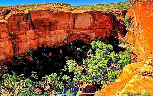 オーストラリアのトップ10ハイキング