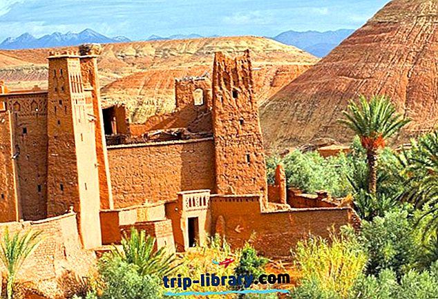 9 tipptasemel turismiobjektid Maroko kõrgtasemel piirkonnas