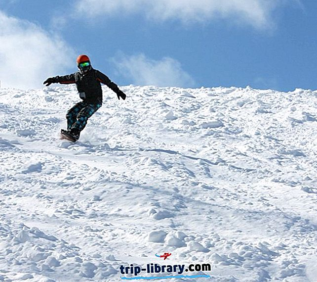 8 Najlepšie hodnotené lyžiarske strediská v Michigane, 2018