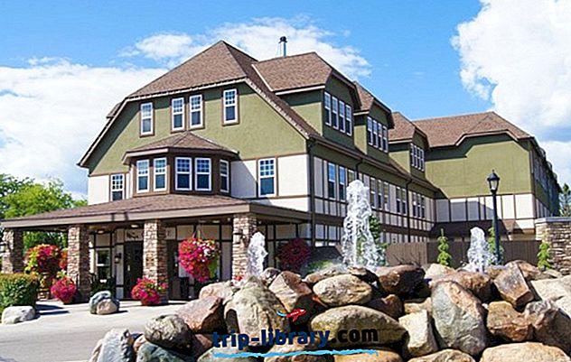 7 legkedveltebb üdülőhely Leech-tó, MN