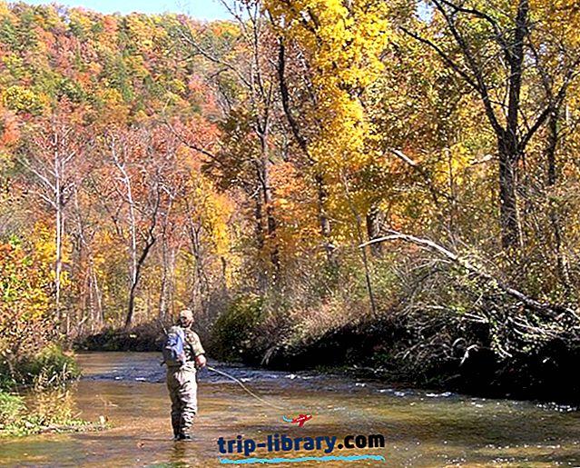 12 Top-értékű pisztráng-halászó tavak és folyók Missouriban