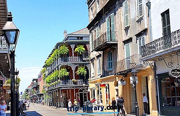 15 najwyżej ocenianych atrakcji turystycznych w Nowym Orleanie