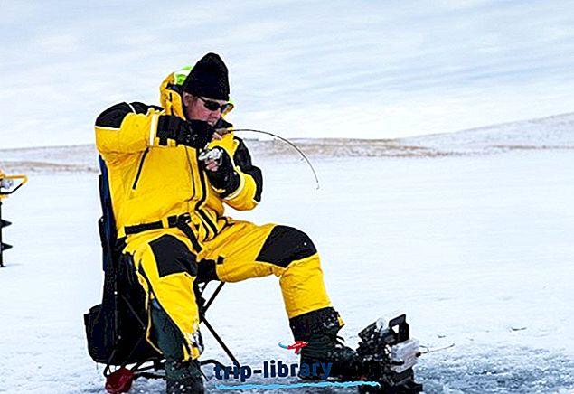 9 Najlepšie Ice Fishing Lakes v Ohiu