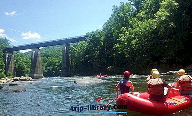 12 Nejlépe hodnocené rafting na divoké vodě a cíle v kajaku v Pensylvánii