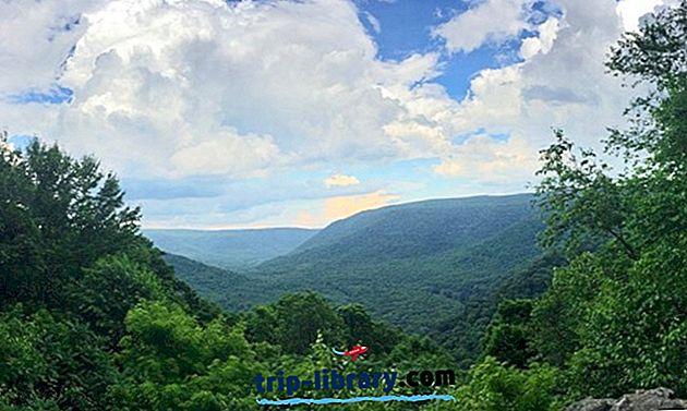 12 أعلى تصنيف الحدائق الوطنية والدولة في ولاية بنسلفانيا