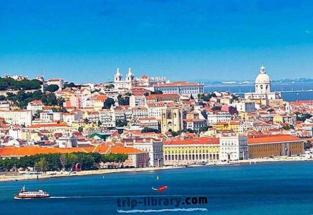 1 dag, 2-dagers og 3-dagers Lisboa reiseruter for reisende