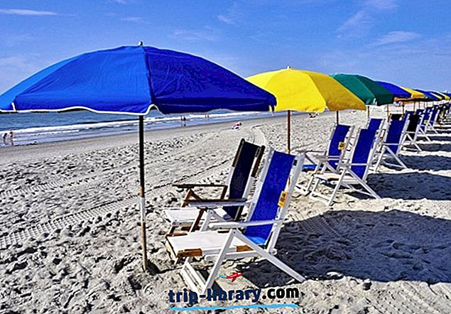 サウスカロライナ州のトップ10のビーチ