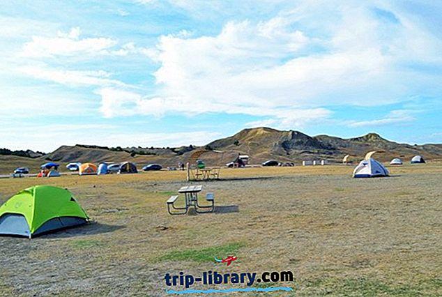 6 أفضل المخيمات في Badlands National Park