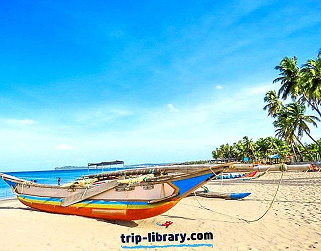 12 Najlepšie hodnotené pláže na Srí Lanke
