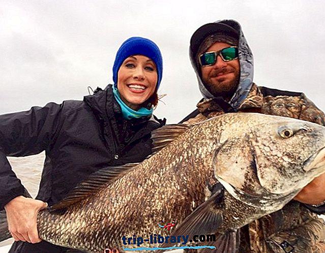 4 Nejlepší místa pro hlubinný rybolov v Texasu