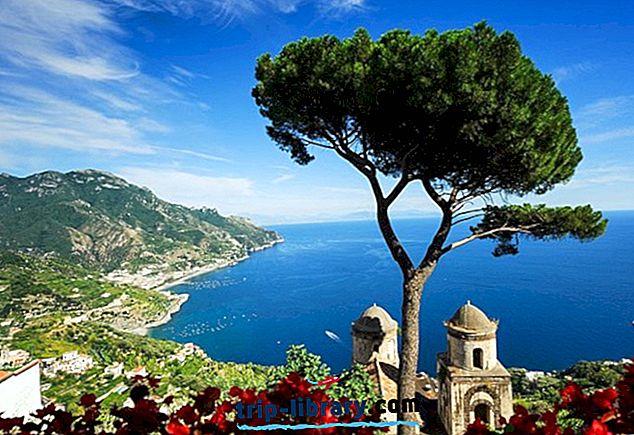 Utforsk de største attraksjonene i Amalfikysten: En turistguide
