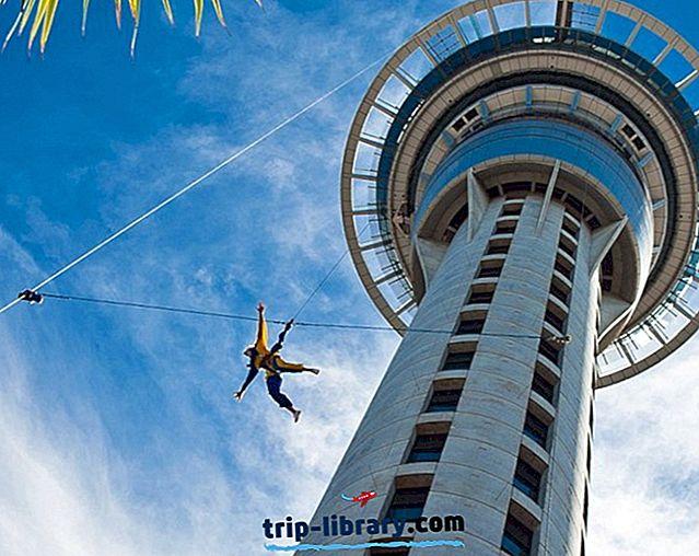 17 Najlepšie hodnotené turistické atrakcie v Aucklande