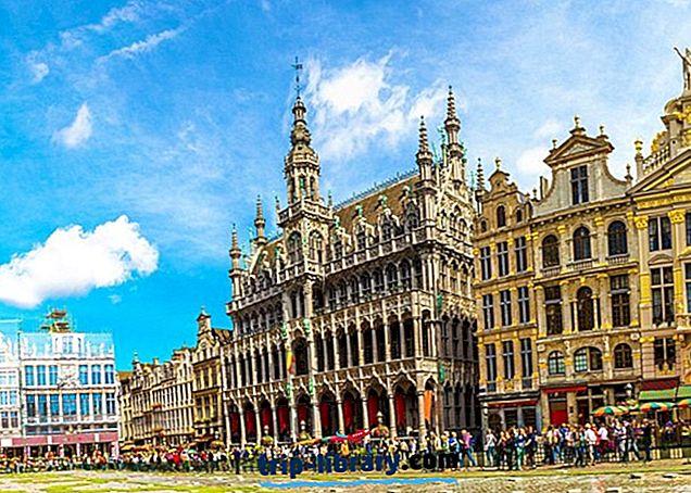 14 populiariausių turistinių vietų Belgijoje